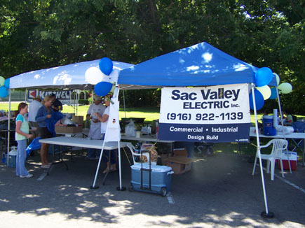 Sac Valley Electric at a Rib Cook Off